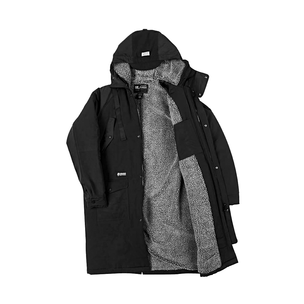 HAMMER BENCH COAT-black