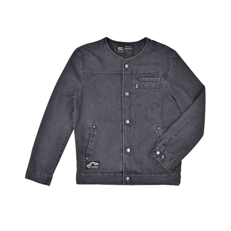 Washed 510 Denim Jacket(black)