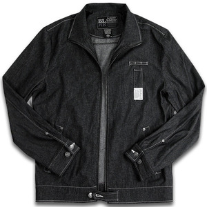 BLACKMAMBA Zip-up shirt(410 BK)